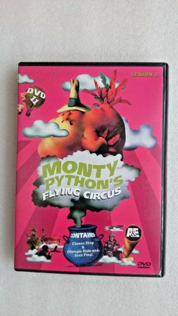 Monty Python's Flying Circus DVD Season 3 Episodes 33,34,35